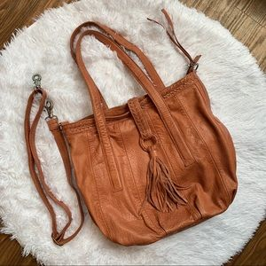 Day & Mood Anthropologie Crossbody Boho Fringe Bag